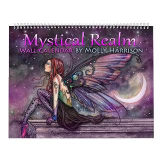 Calendario místico de la hada de la fantasía del