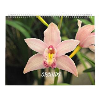 Calendario Orquídeas