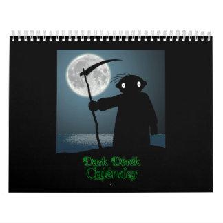 Calendario oscuro de Derek