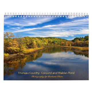 Calendario País 2018 de Thoreau: Charca-Concordia de Walden