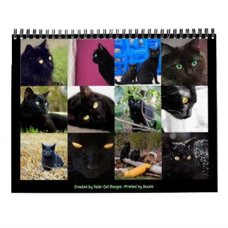 Calendario Pared de doce meses hermosa 2018 de los gatos