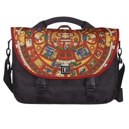 Calendario profético maya antiguo bolsas para portatil