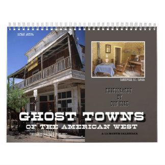 Calendario Pueblos fantasmas del oeste americano