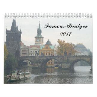 Calendario Puentes famosos 2017