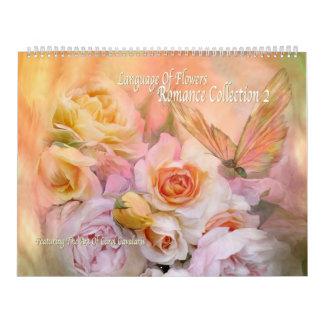 Calendario romántico del arte de la colección 2