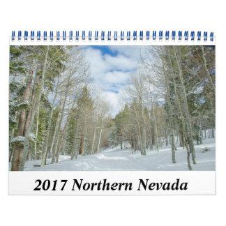 Calendario septentrional de 2017 Nevada