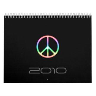 Calendario Símbolo de paz impresionante