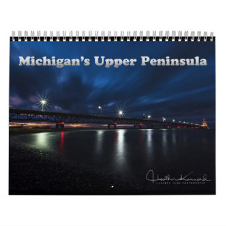 Calendario superior 2017 de la península de
