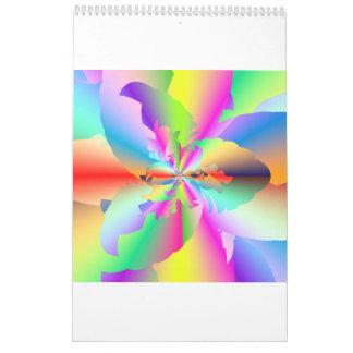 Calendario surrealista de Cyberscapes 2017 del