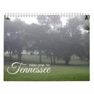 Calendario Un año en Tennessee