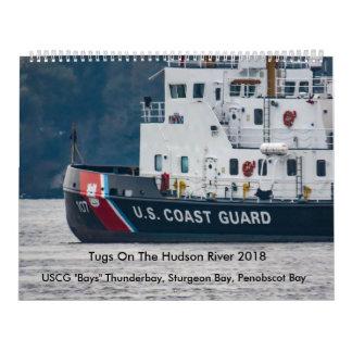 """Calendario USCG """"aúlla"""" en el río Hudson 2018"""