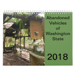 Calendario Vehículos abandonados del estado de Washington