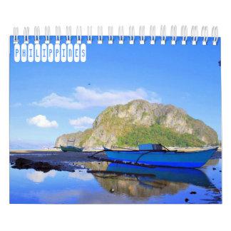 Calendario Viaje de Filipinas