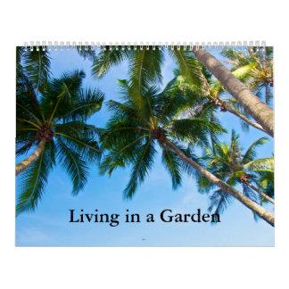 Calendario Vida en un jardín