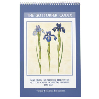 Calendario Vintage botánico - el códice 2018 de Gottorfer