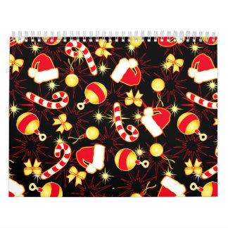Calendarios Amo el modelo inconsútil black.ai de Santa