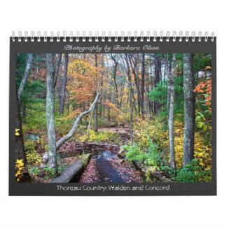 Calendarios Charca 2018 y concordia de Walden