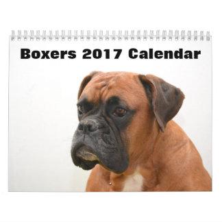 Calendarios De Pared Boxeadores 2017
