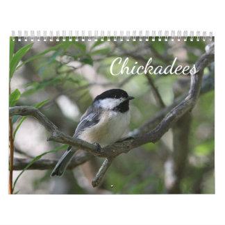 Calendarios De Pared Chickadees