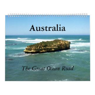 Calendarios De Pared El gran océano camino de Australia -