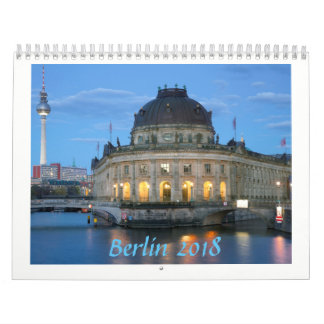 Calendarios De Pared Foto 2018 de Berlín