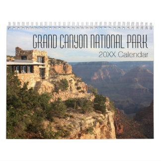 Calendarios De Pared Fotografía del parque nacional del Gran Cañón