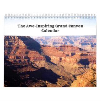 Calendarios De Pared Gran Cañón del Temor-Inspriring