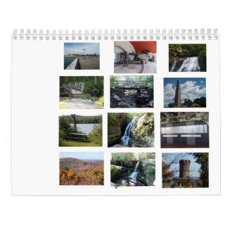 Calendarios De Pared Parques de estado de Connecticut