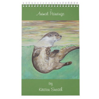 Calendarios De Pared Pinturas animales de Kirsten Sneath