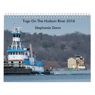 """Calendarios De Pared Tirón del remolque del océano de Dann---""""STEPHANIE"""