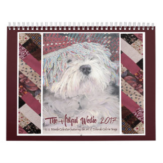 Calendarios El Westie ingenioso 2017