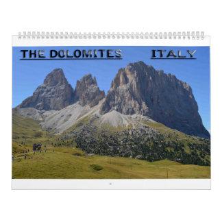 Calendarios La dolomía, Italia