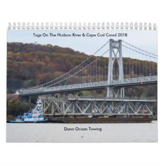 Calendarios Océano de Dann que remolca 2018