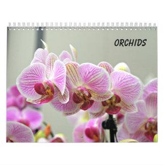 Calendarios Orquídeas