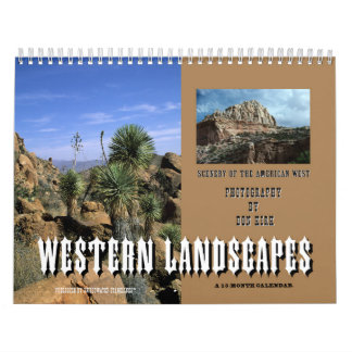 Calendarios Paisajes occidentales