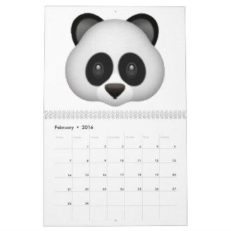 Calendarios Panda - Emoji