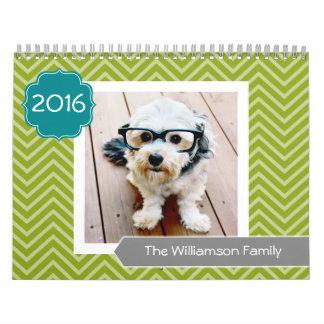 Calendarios Plantilla de 17 fotos personalizada - PUEDE
