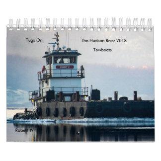 Calendarios Tirones en los remolcadores 2018 del río Hudson