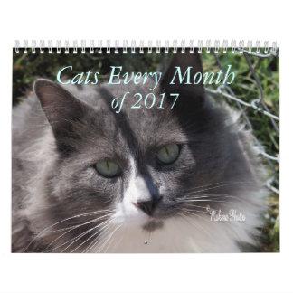 Calendarios Un año de los gatos 2017 - personalizar a