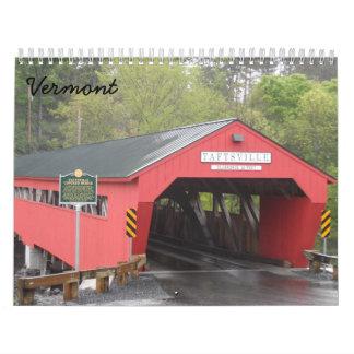 Calendarios Vermont 2018