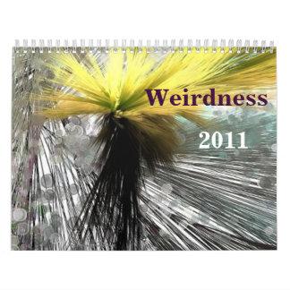 Calendarios Weirdness 2011