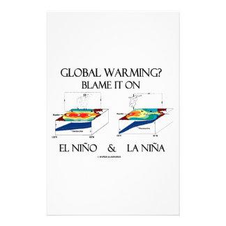 ¿Calentamiento del planeta? Cúlpelo en el EL Niño Papeleria