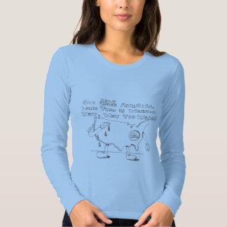 Calentamiento del planeta los E.E.U.U. Camisas
