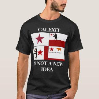 Calexit no es una camiseta histórica de la bandera