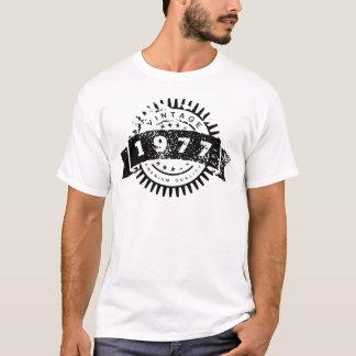 Calidad del premio del vintage 1977 camiseta
