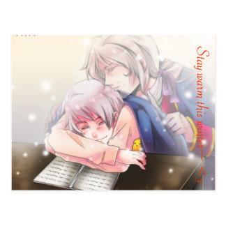 Caliente anime Relastions Postal