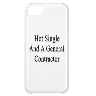 Caliente escoja y un general Contractor Funda Para iPhone 5C