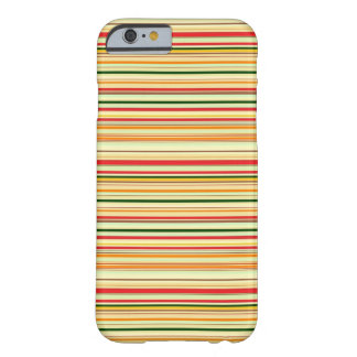 Caliente y Stripey Funda Barely There iPhone 6
