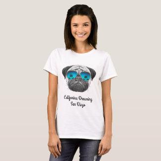 Califorina que soña el barro amasado San Diego Camiseta