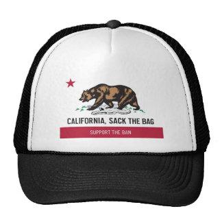 California, despide el bolso gorra